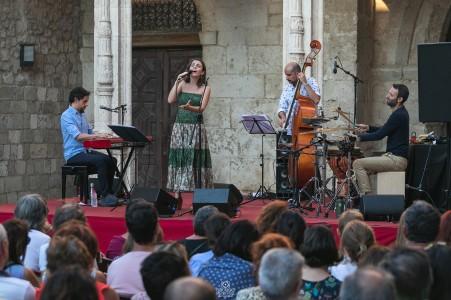 Con Sofía Ribeiro, Marcelo Woloski y Juan Ospina